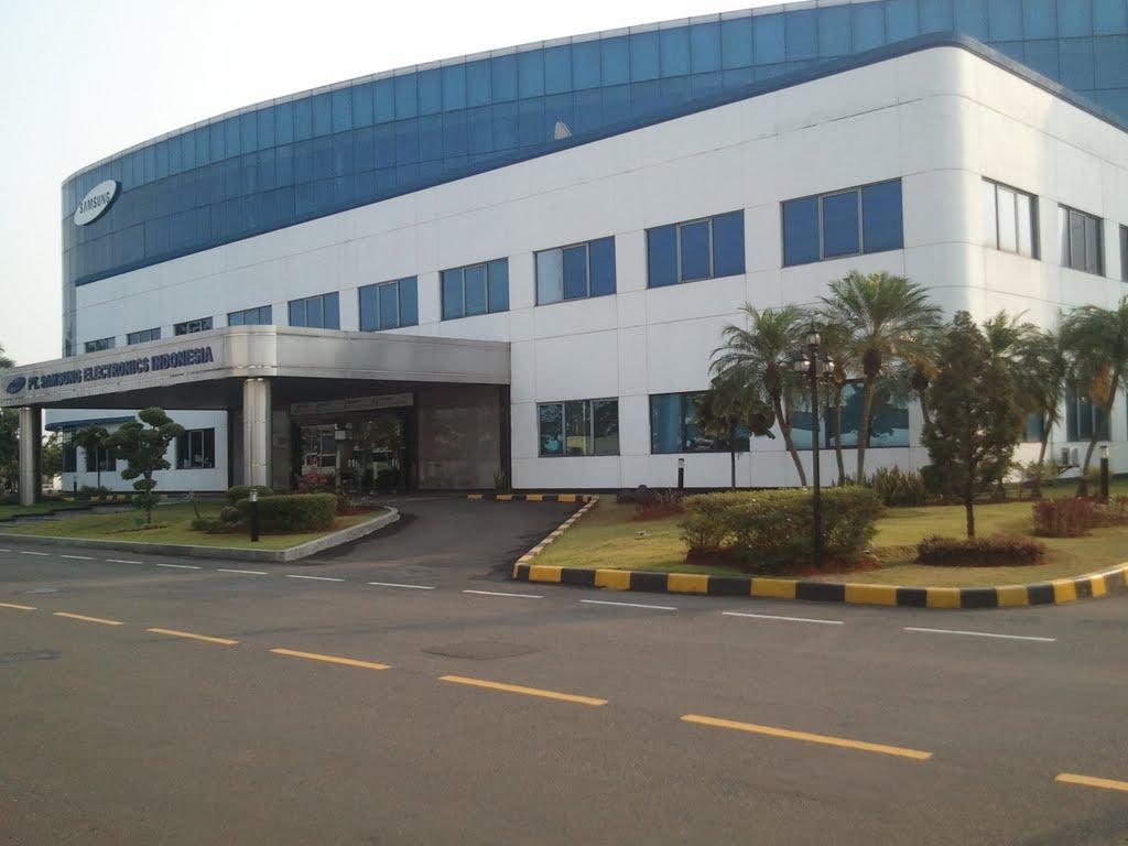 kantor dan pabrik pt samsung electronics indonesia