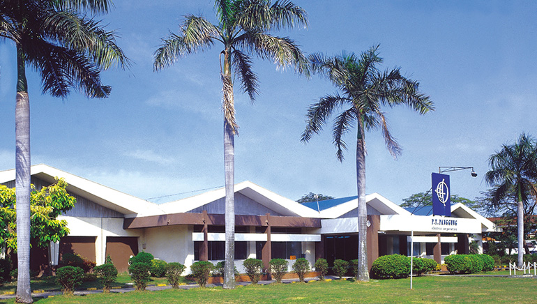 kantor dan pabrik pt panggung electric citrabuana